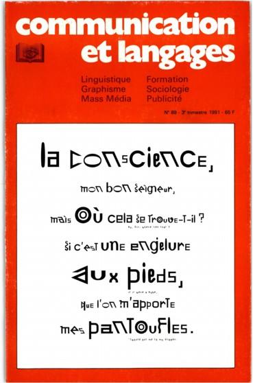 « Similar to... » ou leuro-typographie à lère de la « Postcript Life »
