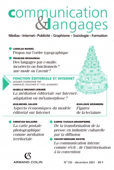 Introduction. Fonction éditoriale et internet