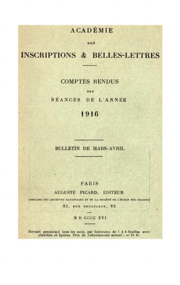 Remarques aux inscriptions latines sur pesons de fuseau