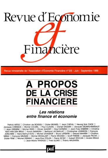 Developpement Du Credit A La Consommation Et Economie Reelle Persee