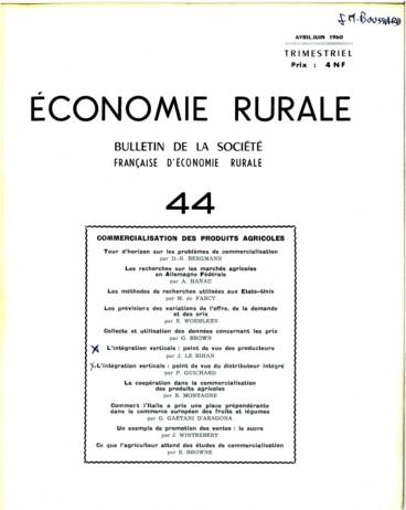 Un Exemple De Promotion Des Ventes D Un Produit Agricole Le