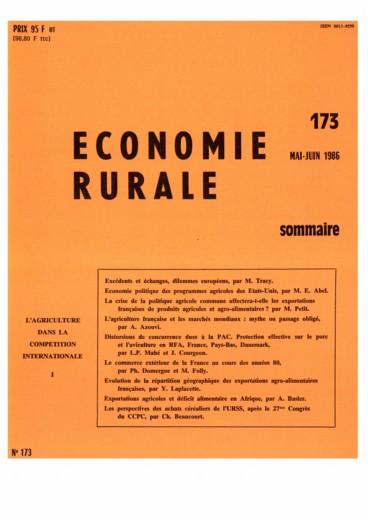 Veme Congrès Européen des Economistes Agricoles