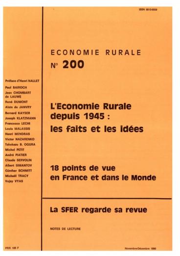 La SFER regarde sa revue. 200 numéros en 42 ans : quel bilan