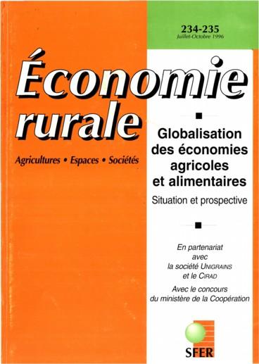 Sous la direction de Philippe Chalmin Les marchés mondiaux 96