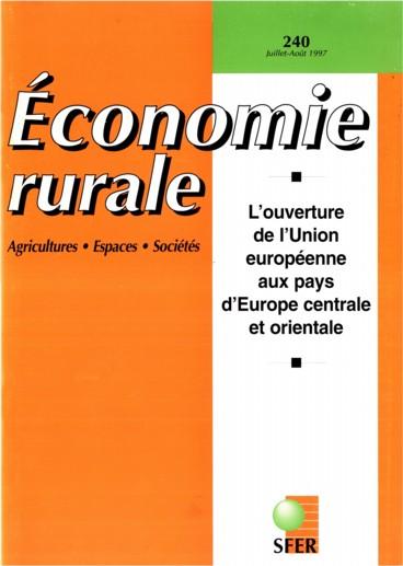Avant-Propos   Économie rurale