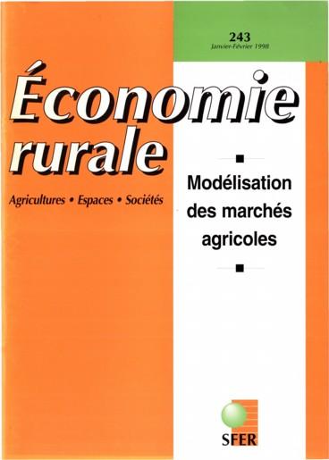 Cycles à moyen terme des prix mondiaux des matières premières agricoles