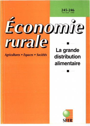 Editorial   Économie rurale