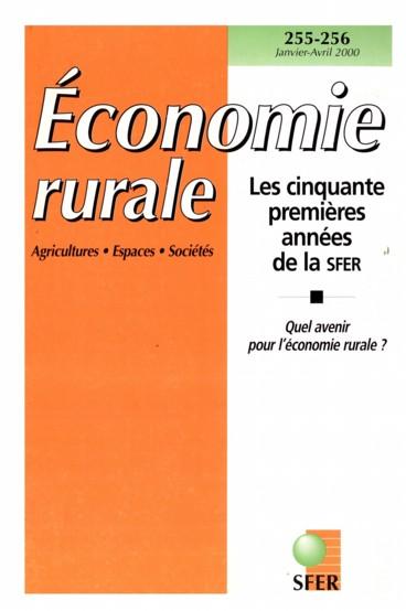 Numéros déconomie rurale parus en 1998 et 1999