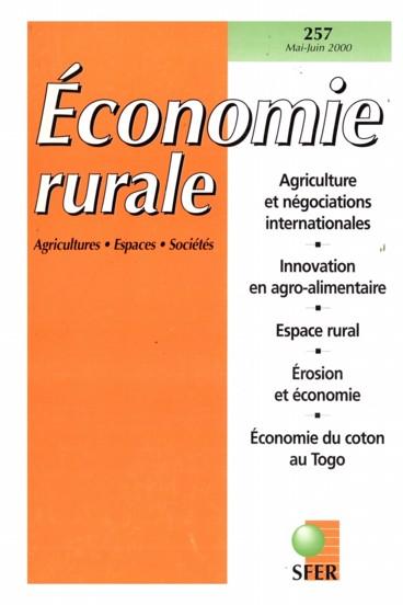 Agriculture, équilibre général et OMC
