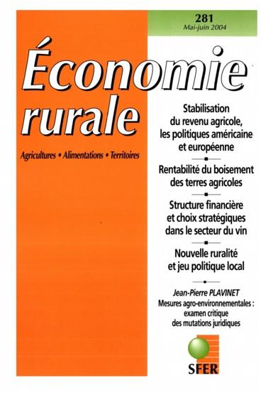 De lÉtat-fusible comme système de gouvernance en matière de politique agricole. Le point sur les mesures agro-environnementales dans le contexte français