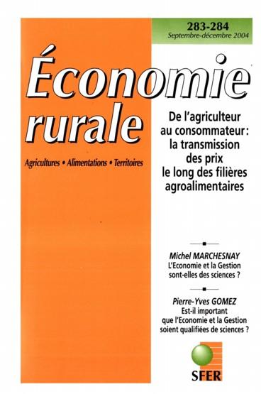 Introduction   Économie rurale