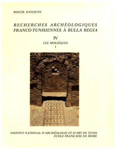 Recherches archéologiques franco-tunisiennes à Bulla Regia. IV. Les ... ba1450d42eaf