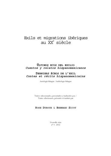 Endimión en España (Estampas de época 1962-1963) - Persée