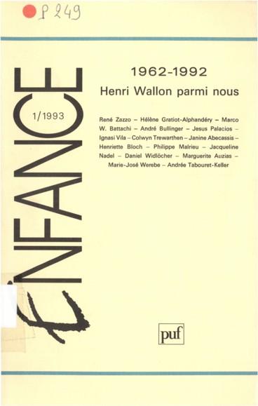 Henri Wallon : souvenirs