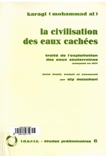 c9c5e011a01 La civilisation des eaux cachées. Traité de l Exploitation des eaux ...