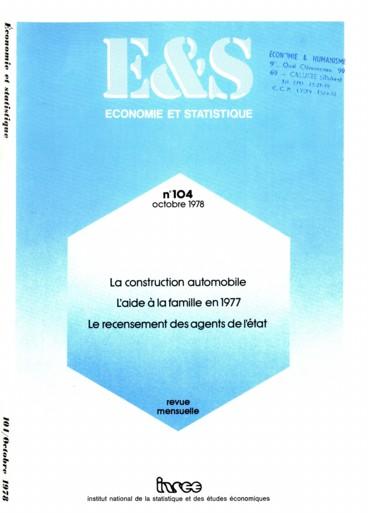 L Aide A La Famille En 1977 Prestations Familiales Et Reduction D