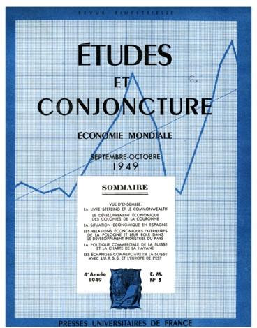 La Situation Economique En Espagne Persee