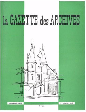 Association Amicale Professionnelle Des Archivistes Francais Persee