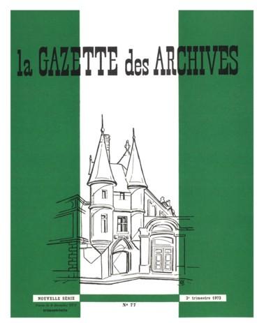 Les Archives De La Conservation Des Hypotheques Source D Histoire