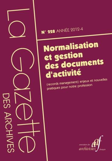Le plan de classement des documents dans un environnement