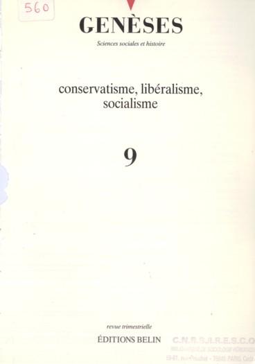 Aux sources des rapports sociaux : Bonald, Saint-Simon, Guizot