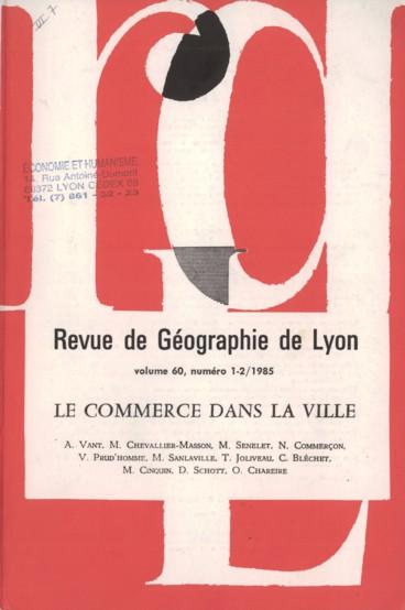 L évolution du centre commerçant de Saint-Etienne (1971-1981) - Persée 93173d0e149f