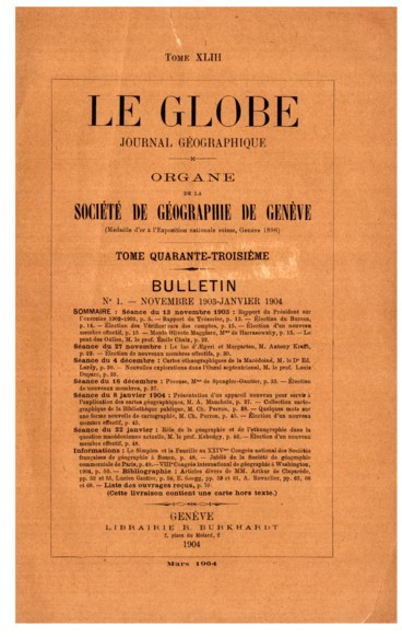 Lenseignement de la géographie à lAssociation britannique. Geographical Education at the British Association. — The Geographical Journal, novembre 1903