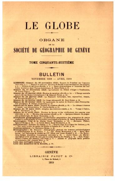 Carte inédite du canton de Genève à léchelle de 1 : 12 500