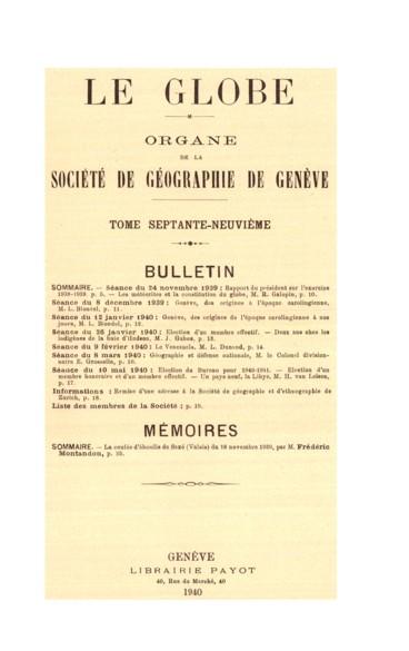 Genève, des origines à lépoque carolingienne