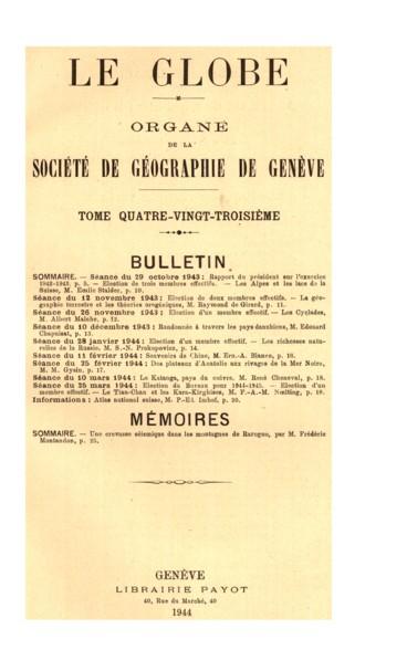 Présidence de M. Léon Dunand. président.