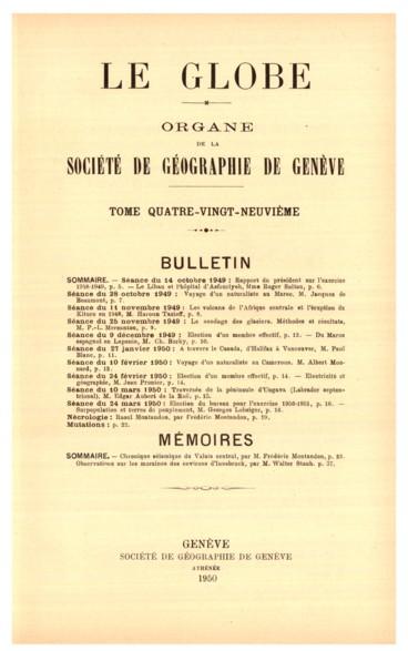 Présidence de M. Pierre Revilliod, président