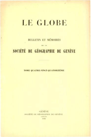 André Chaix 1887-1955
