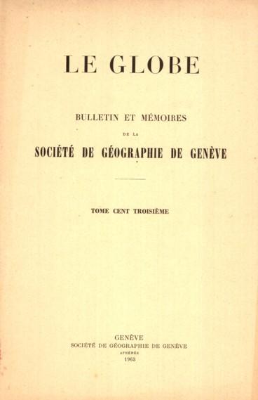 Étapes dune féconde recherche : lœuvre manuscrite de Fréd. Montandon