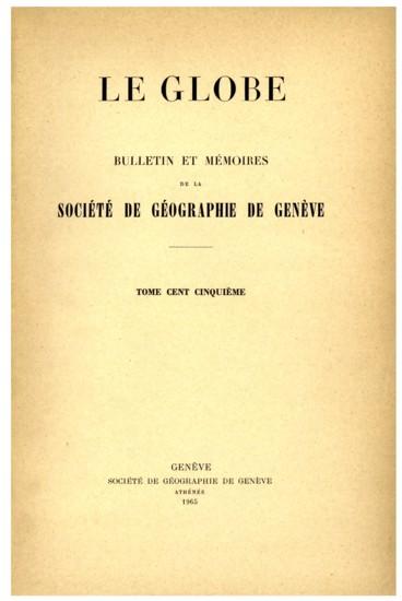 Présidence de M. Jean-Frédéric Rouiller, président sortant de charge, puis de M. Louis Magnin, président pour lexercice 1964-1965