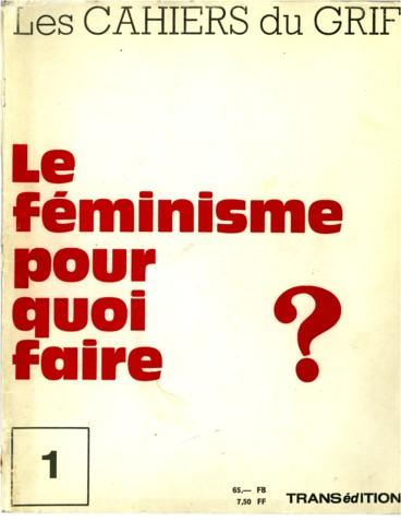 1c912b6777ad9 Féminitude et féminisme - Persée