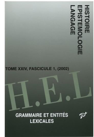 Approches De La Syntaxe Du Verbe Dans La Grammaire Et Syntaxe Francoise De Charles Maupas 1618 Persee