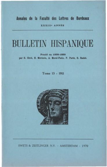 Sur Quelques Archaismes De La Conjugaison Espagnole Persee