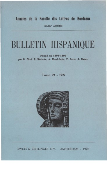ángel De Saavedra Duc De Rivas Essai De Bibliographie