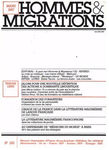 La littérature maghrébine francophone dans les collections de poche