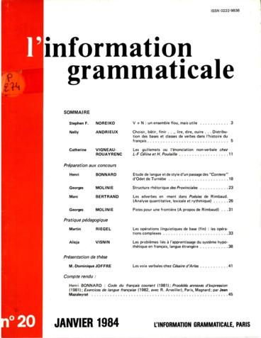 Les Adverbes En Ment Dans Poesies De Rimbaud Analyse Quantitative Lexicale Et Rythmique Persee
