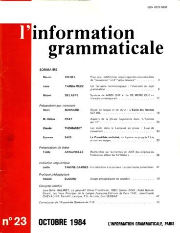 Usages Pedagogiques Du Scrabble Persee