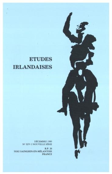 Irish Literature In English The Years Work Autumn 1988 Autumn