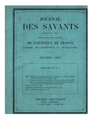 La Table Claudienne De Lyon Premier Article Persee