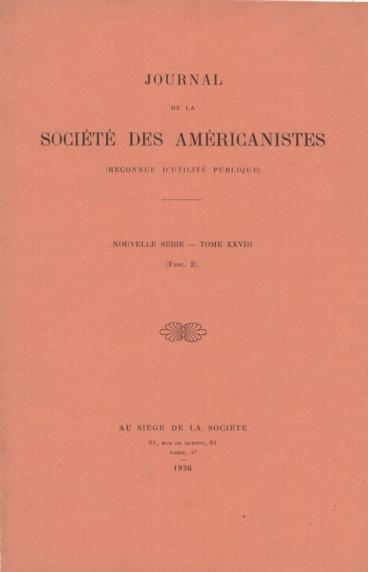 Bibliographie Américaniste Persée