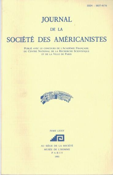 Bibliographie américaniste - Persée