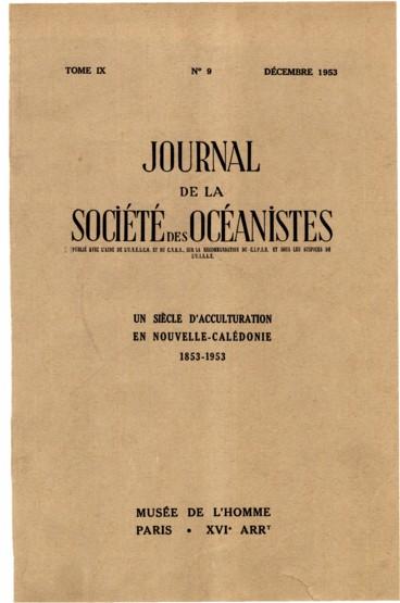 Bibliographie De LOceanie 1952