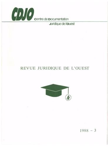 Cour D Appel De Rennes 5e Ch 23 Fevrier 1988 Contrat De Travail