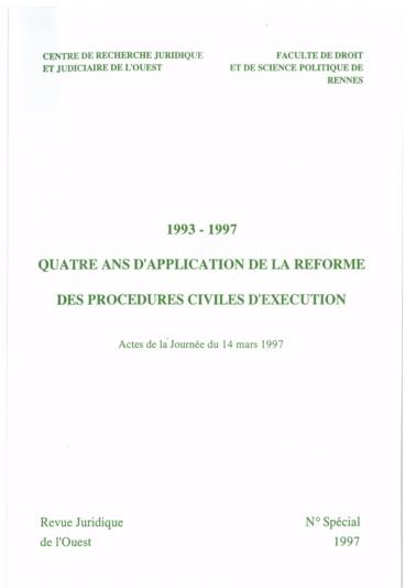 Voies D Execution Et Procedures Collectives Une Strategie Possible