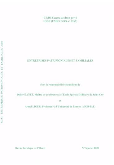 Transmission De L Entreprise Familiale Aspects Civils Et