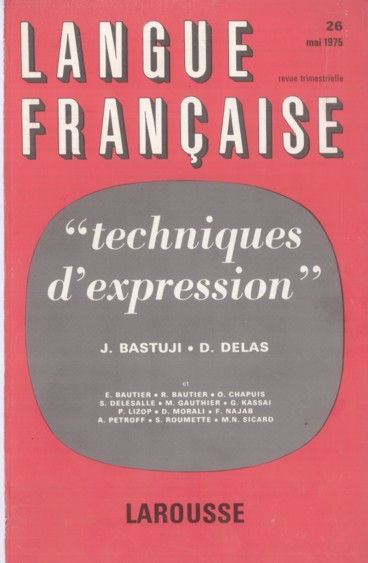 La phrase : invention et transformation